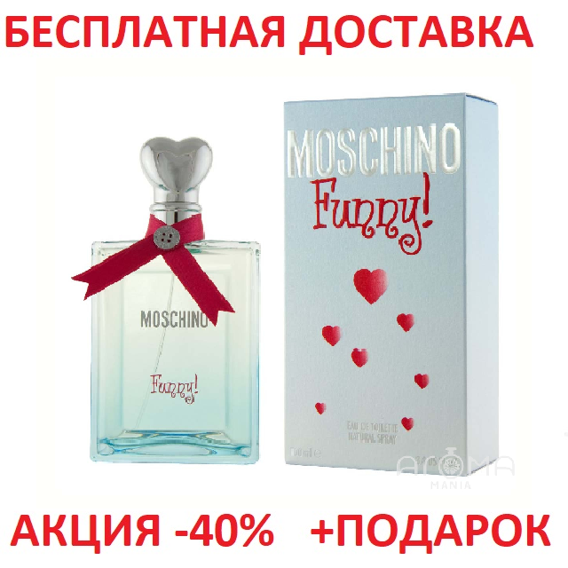 Moschino Funny Москино Фани Original size Женская туалетная вода Духи Парфюмированная Парфуми Тестер