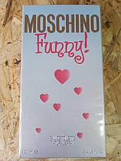Moschino Funny Москино Фани Original size Женская туалетная вода Духи Парфюмированная Парфуми Тестер, фото 3
