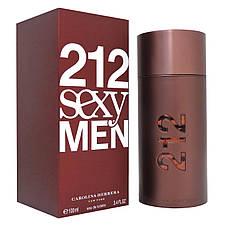 Carolina Herrera 212 Sexy Men Каролина Херрера 212 Сексуальные мужчины Original size мужская Туалетная вода, фото 3