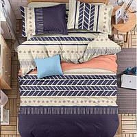 Комплект постельного белья Зигзаги (двуспальный-евро)