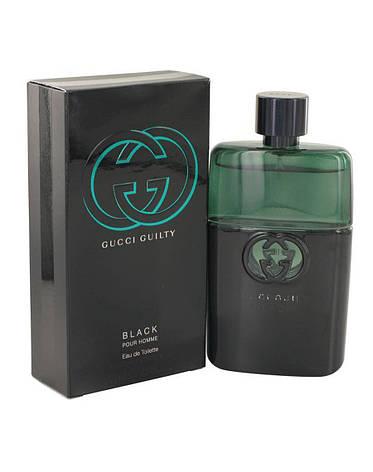 Gucci Guilty Black, 90 ml Originalsize мужская туалетная вода тестер духи аромат , фото 2
