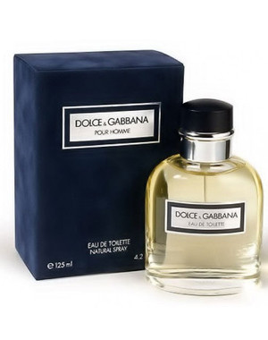 Dolce&Gabbana Pour Homme, 125 ml Originalsize мужская туалетная вода тестер духи аромат