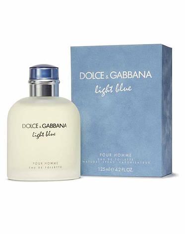 D&G Light Blue, 125 ml Originalsize мужская туалетная вода тестер духи аромат , фото 2