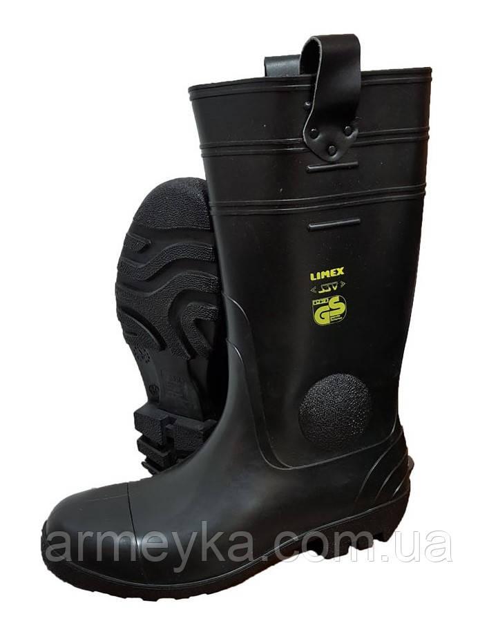 Огнестойкие/защитные резиновые сапоги Limex (стальной носок). Германия, оригинал., фото 1
