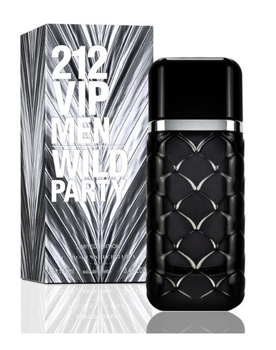 Carolina Herrera 212 VIP Wild party, 100 ml Originalsize мужская туалетная вода тестер духи аромат