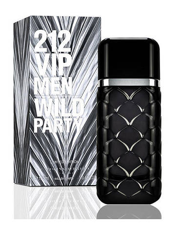 Carolina Herrera 212 VIP Wild party, 100 ml Originalsize мужская туалетная вода тестер духи аромат , фото 2