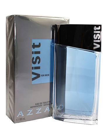 Azzaro Visit, 50 ml Originalsize мужская туалетная вода тестер духи аромат , фото 2