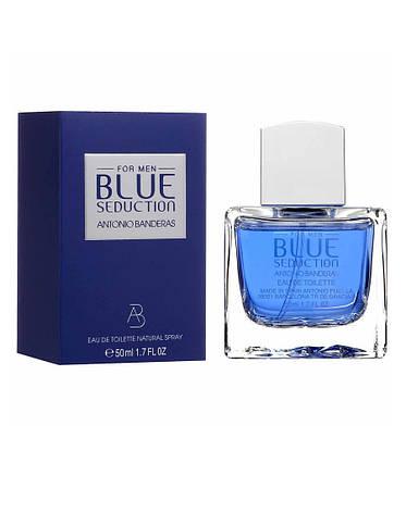 Antonio Banderas Blue Seduction Fresh, 100 ml Originalsize мужская туалетная вода тестер духи аромат , фото 2