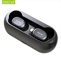 Беспроводные Bluetooth наушники гарнитура QCY qs1 TWS  3D hi fi  стерео с двойным микрофоном