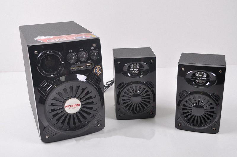 Акустическая компьютерная система Hyundai HY-290А 2.1 Subwoofer Speaker Set,USB+SD