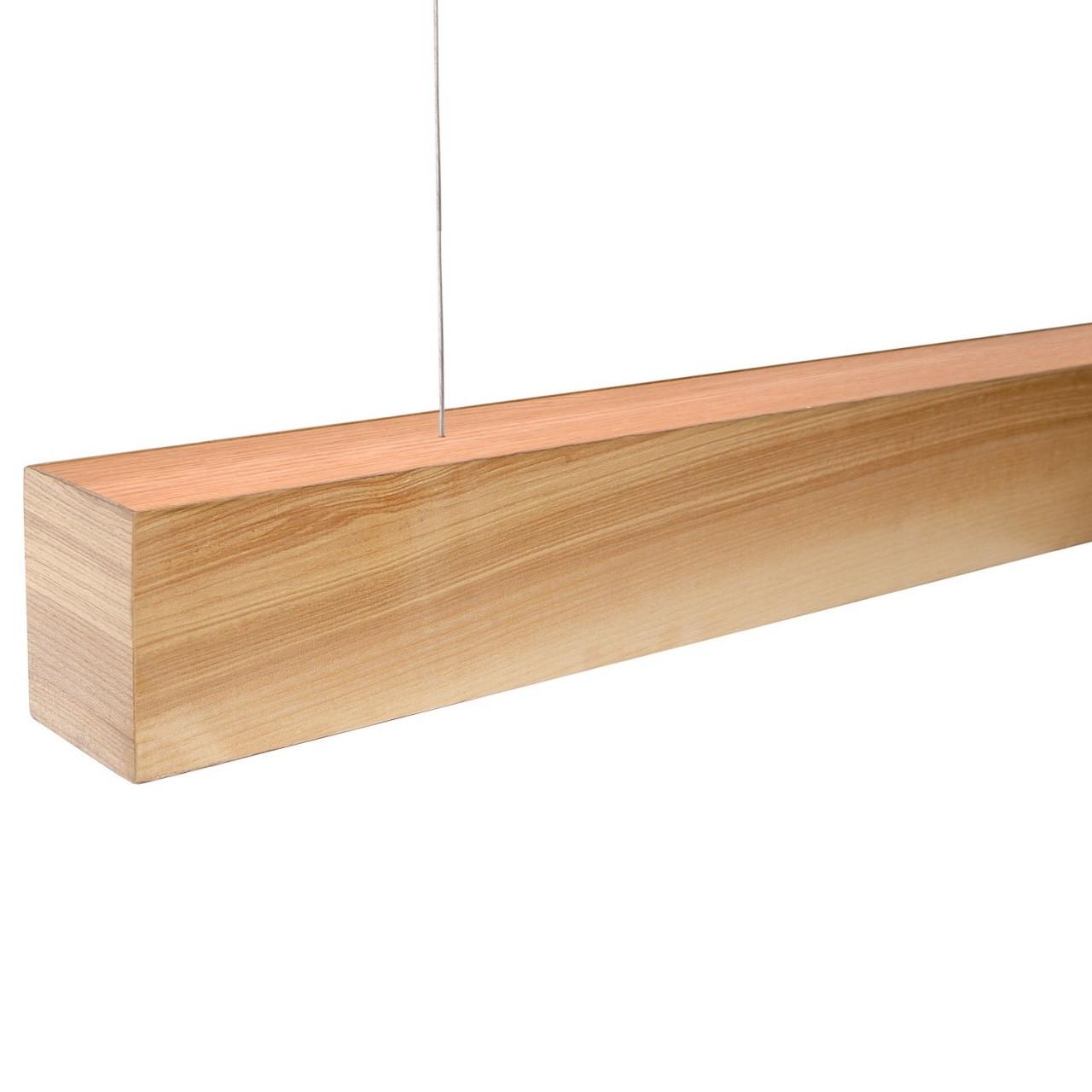 Turman WOOD 1500 44W 4400Lm деревянный светодиодный линейный светильник