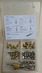 Набор заправочных золотников (ниппелей) для А/С Gamela 51000, фото 3