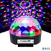 РАСПРОЖАДА! Диско шар с динамиками LED BALL LAMP Светомузыка с MP3 плеером и Bluetooth