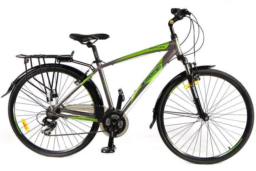 """Crosser Велосипед Crosser City Life Man 28"""" 19"""" Grey (City Life Man 28/19)"""
