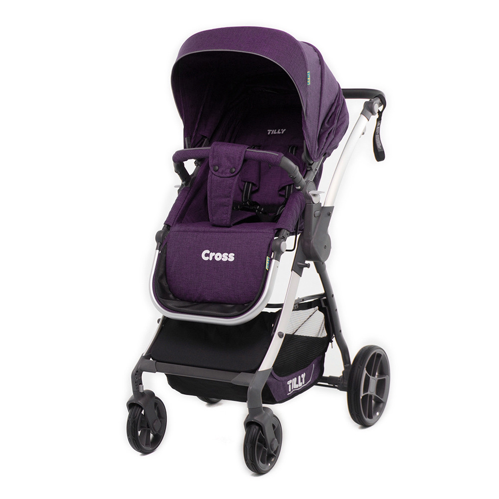 Tilly Прогулочная коляска Tilly Cross New Purple (T-171N)