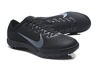 Сороконожки Nike Mercurial VaporX VII Pro TF black grey