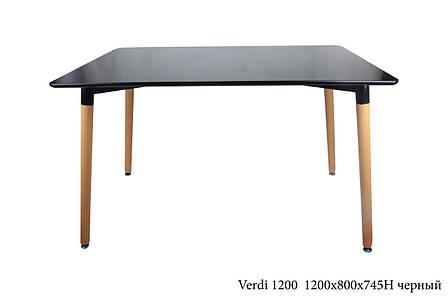 Стол Verdi 1200, цвет черный, фото 2
