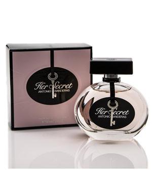 Antonio Banderas Her Secret, 80 ml Original size женская туалетная парфюмированная вода тестер духи аромат