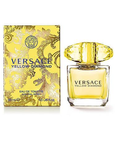 Versace Yellow Diamond, 100 ml Original size женская туалетная парфюмированная вода тестер духи аромат, фото 2