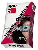 Самовыравнивающая смесь гипсовая (теплый пол) 1-20мм Baumit Nivelo Quattro  (25кг)