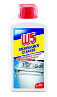 Концентрированное средство для очистки посудомоечной машины W5 250 мл