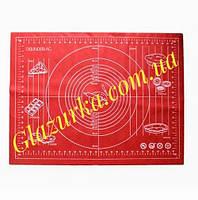 Силиконовый коврик для раскатки теста 50 х 70 см