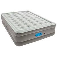 BESTWAY Надувная кровать Bestway со встроенным насосом 203х152х46 см (67624)