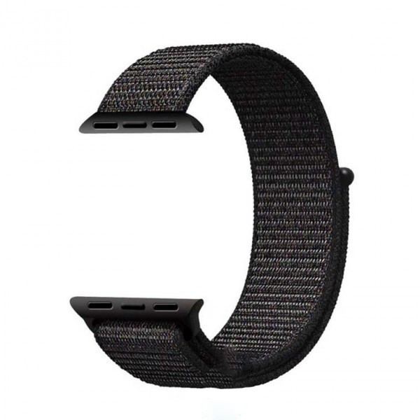 Ремешок Apple Watch Nylon Loop 42mm 07, black