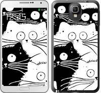 "Чехол на Samsung Galaxy Note 3 N9000 Коты v2 ""3565c-29-676"""