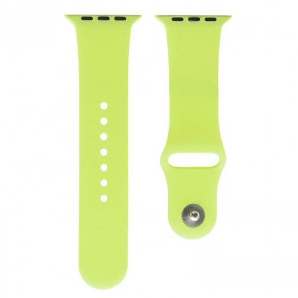 Ремешок Apple Watch Band Silicone One-Piece 38mm 33, светло-зеленный