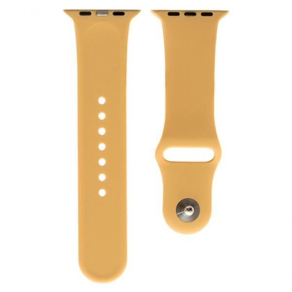 Ремешок Apple Watch Band Silicone One-Piece 38mm 15 кофейный