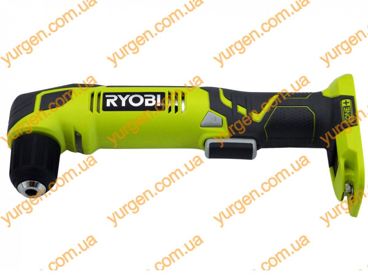 Аккумуляторная угловая дрель RYOBI RAD1801