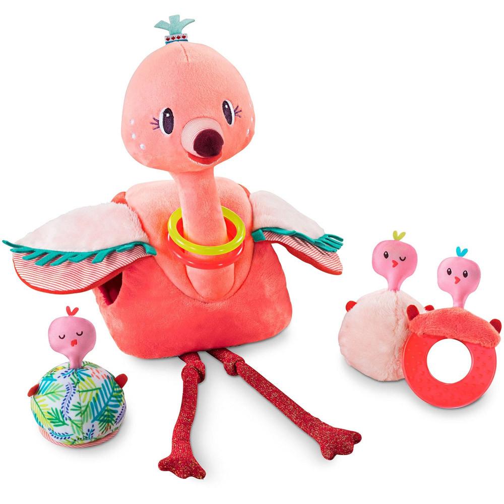 Lilliputiens - Игровой набор фламинго Анаис и её птенцы