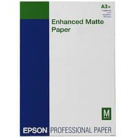 Фотобумага Epson Enhanced Matter Paper 192г/м кв, A3+ (C13S041719)