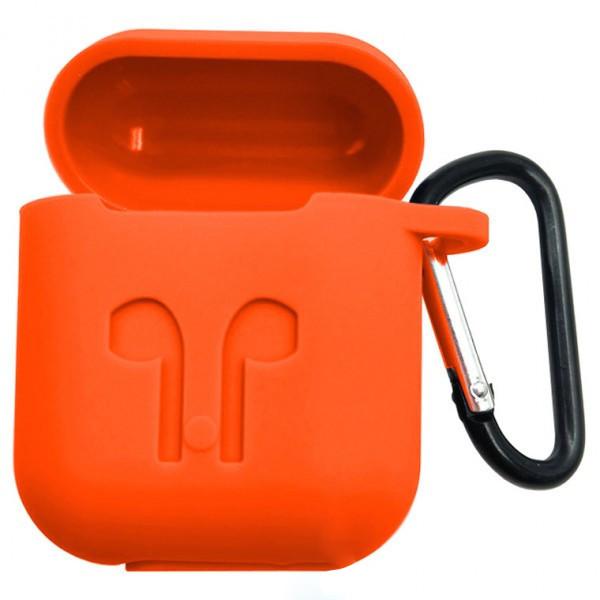 Футляр Remax для наушников Airpod Full Case оранжевый
