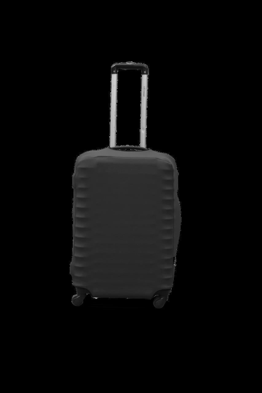 Чохол для валізи Coverbag дайвінг S графіт