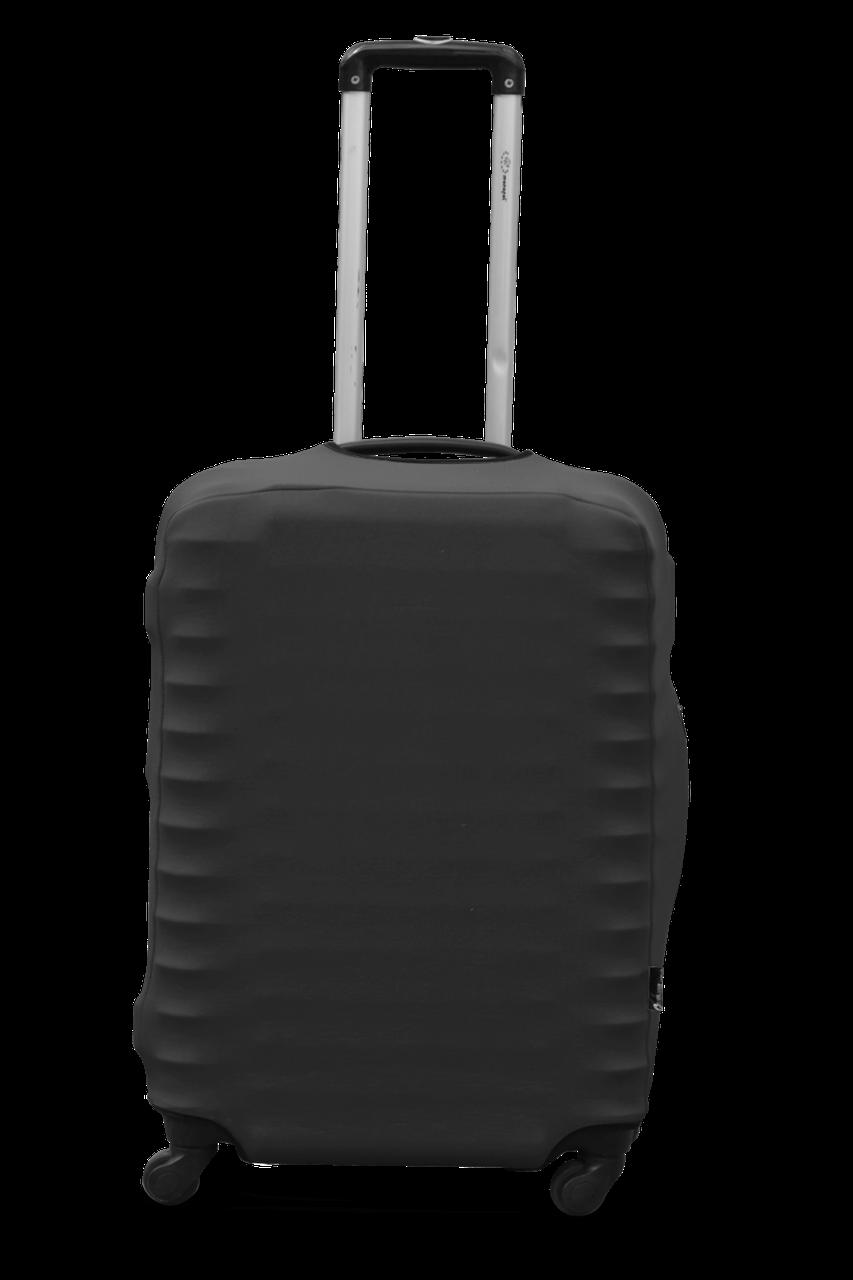 Чехол для чемодана  Coverbag дайвинг L графит