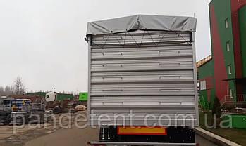 Тентова накидка из ПВХ на зерновоз, фото 3