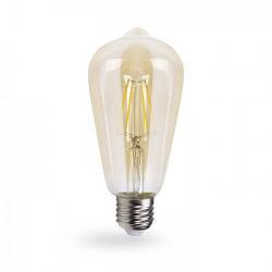 Светодиодная лампа Feron LB-764 ST64 золото 4W E27 2700K EDISON