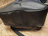 (47*32-боль)Рюкзак  Ferrar-PUMA мессенджер с кожаным дном спортивный городской стильный только ОПТ, фото 5