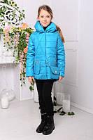 Демисезонные куртки и ветровки для девочек