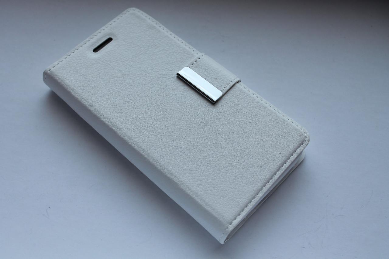 """Универсальный чехол-книжка Valenta 5.0"""" белый"""