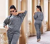 Спортивный костюм женский Ангора софт Размер 50 52 54 56 В наличии 2 цвета, фото 2
