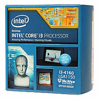 Процессор 1150 Intel Core i3-4130 2x3,5Ghz 3Mb Cache 5000Mhz Bus бу