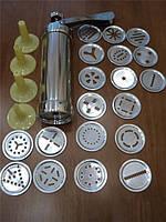 Экструдер кондитерский (20 насадок) метал.(код 00473)
