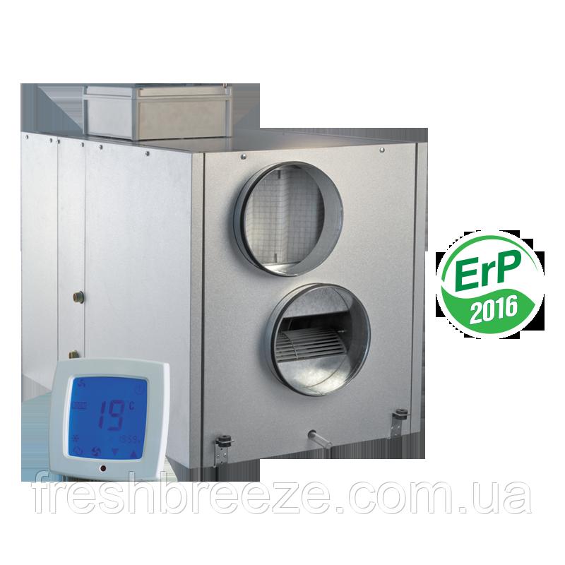 Приточно-вытяжная установка с рекуперацией тепла Vents ВУТ 1500 ВГ-4