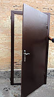 Вхідні Двері Метал - Кожзам, фото 1