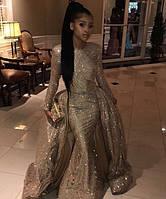 Вечернее платье с баской. Золотое Выпускное платье. Вечірня сукня.Цвета в  ассортименте. 6a716d62c11d1