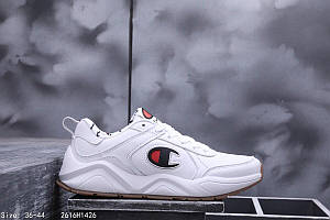 "Кроссовки CASBIA x Champion AWOL Atlanta ""All White"" Арт. 3863"
