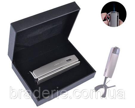 Зажигалка подарочная Honest 3006 с ножницами для сигар, фото 2